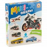 Пазлы-maxi «Транспорт» 6 элементов.