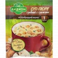 Суп-пюре грибной «Лидкон» с гренками, не требующий варки, 20 г.