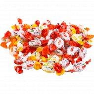 Карамель «Рошен джус-микс» с фруктово-ягодной начинкой, 1 кг., фасовка 0.25-0.35 кг