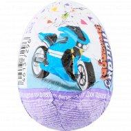 Яйцо шоколадное «Забавный сюрприз» с игрушкой, для мальчиков, 20 г