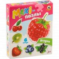 Пазлы-maxi «Ягодки» 6 элементов.