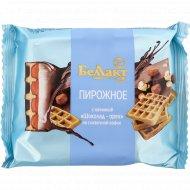 Пирожное «Беллакт» творог, вафля, шоколад и орех, 23%, 100 г