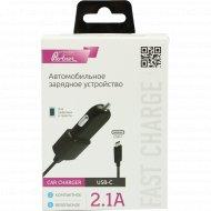 Автомобильное зарядное устройство «Partner» USB-C, 2.1A.