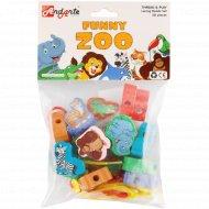 Развивающий набор «Весёлый зоопарк» 16 элементов.