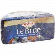 Сыр с голубой плесенью «President» le blue, 50%, 1.3 кг, фасовка 0.1-0.25 кг