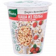 Каша из полбы «Knorr» с ягодами и льном, 45 г