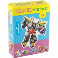 Пазлы-maxi «Для мальчиков» 6 элементов.