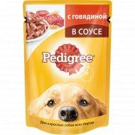 Корм для собак «Pedigree» c говядиной, 100 г.