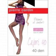 Колготы женские «Pierre Cardin» Capri 40 nero 3.