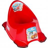 Горшок «Tega» Машинки, красный
