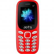 Мобильный телефон «Joys» S7 DS Red.