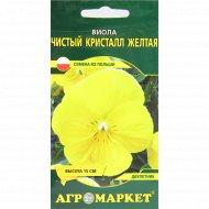 Семена «Виолы» чистый кресталл желтая, 0.2 г.
