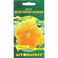 Семена «Виолы» чистый кресталл оранжевая, 0.2 г.