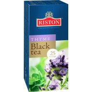 Чай черный «Riston» с чабрецом, 25 пакетиков по 1.5 г, 37.5 г.