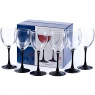 Набор бокалов для вина «Domino» стеклянных, 6 шт, 350 мл.