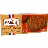 Сливочное печенье «St Michel» с кусочками шоколада, 150 г.