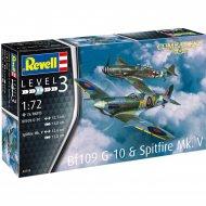 Сборная модель «Revell» Messerschmitt Bf109G-10, Spitfire Mk.V