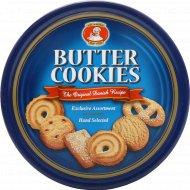 Сливочное печенье «Butter Cookies» с кусочками шоколада, 454 г.