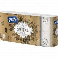 Туалетная бумага «Grite» Ecological, 8 шт