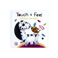Книга «Веселые фигуры. Touch & feel».