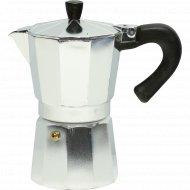 Кофеварка гейзерная металлическая 300 мл.