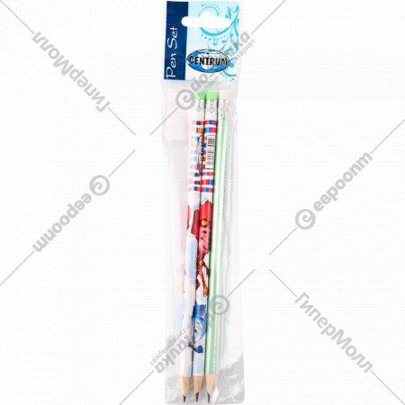 Набор простых карандашей «Фиксики», 3 шт