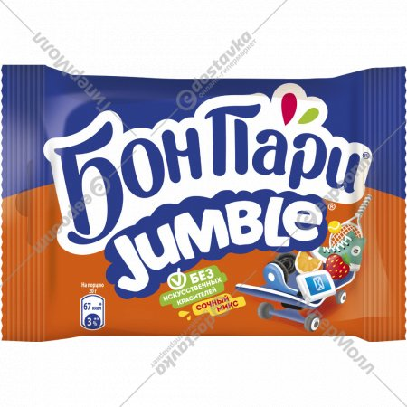 Жевательный мармелад «Бон Пари» Jamble ассорти, 40 г.