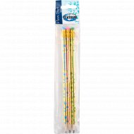 Набор простых карандашей, 3 шт