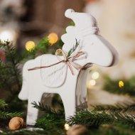 Изделие декоративное «Рождественская лошадка».