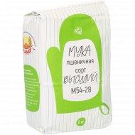 Мука пшеничная «Уладар» высший сорт, М 54-28, 2 кг.