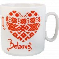 Кружка «Джойс» Я люблю Беларусь 300 см3.