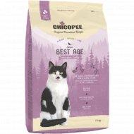 Корм для пожилых котов «Чикопи» Cnl best age, 1.5 кг.