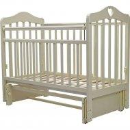 Кровать детская «Топотушки» Оливия-5, 37, слоновая кость