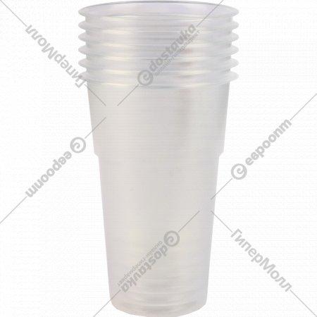 Стаканы одноразовые мягкие 0.5 л, 6 шт.