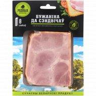Продукт из свинины мясной копчёно-варёный «Бужаніна да сэндвічаў»