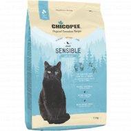 Корм гипоаллергенный для кошек «Chicopee» Sensible, ягненок, 1.5 кг.
