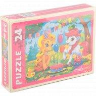 Макси-пазлы «День рождения Пони» 24 элемента.