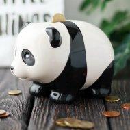 Копилка декорированная «Панда».