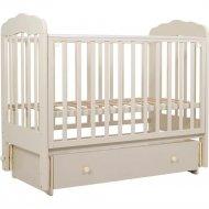 Кровать детская «Топотушки» Мария-6, 90, маятник, слоновая кость