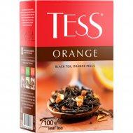 Чай черный «Tess» апельсин, 100 г.