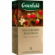Чайный напиток «Greenfild» Wildberry Rooibos, 25 пакетиков.
