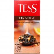 Чай черный «Tess» оранж, 25 пакетиков.