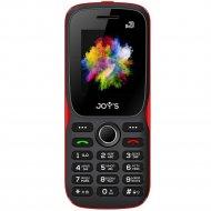 Мобильный телефон «Joys» S3 DS Black Red.