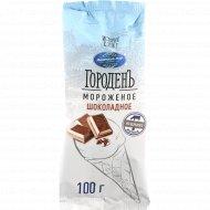 Мороженое «Городень» шоколадное, 15%, 100 г