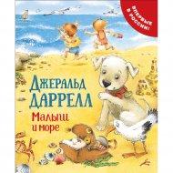 Книга «Малыш и море» про щенка.