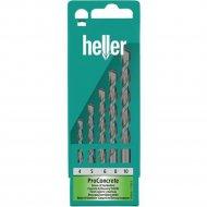 Набор сверл по бетону «Heller» 17755, 5 шт