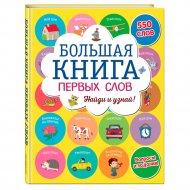 Книга «Большая книга первых слов».