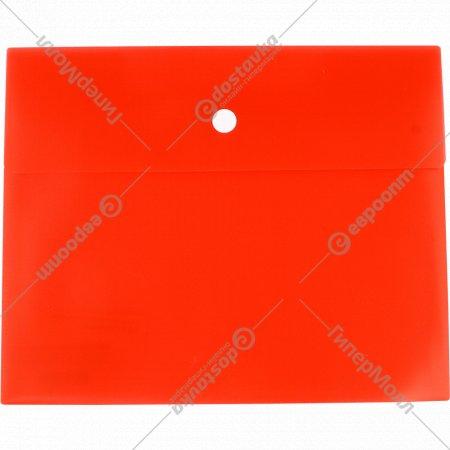 Папка-конверт на кнопке, А5.