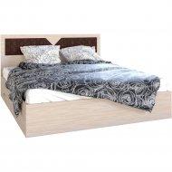 Кровать «Мебель Эра» Николь 1600, ясень шимо