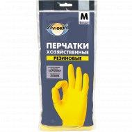 Перчатки резиновые «Aviora», размер M.